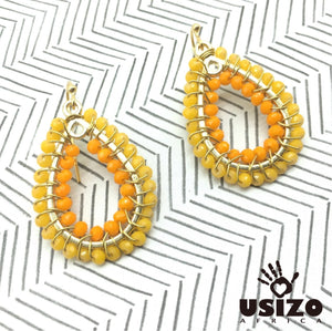 Usizo Baby Joy Drop - Sunshine Yellow