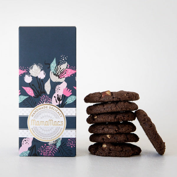 Mamamacs Premium Gift Box - Dark Chocolate & Almond Biscuits