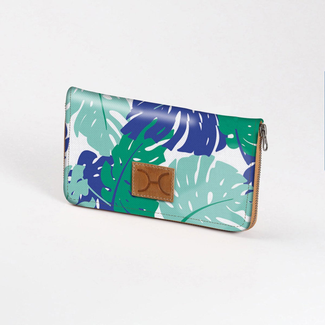 Thandana Large Ladies' Wallet - Leafing Around Emerald