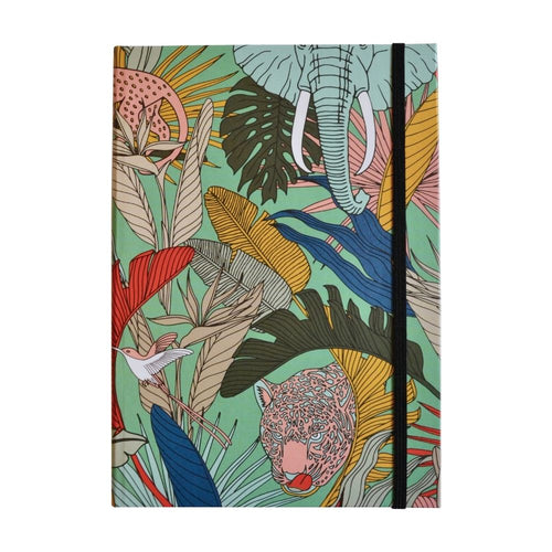 A Love Supreme Hardcover Lined Notebook - Wild at Heart Green