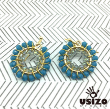 Load image into Gallery viewer, Usizo Baby O's - Medium Teal/Crystal