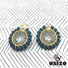 Load image into Gallery viewer, Usizo Baby O's - Dark Teal/Crystal