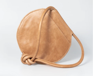 Thandana Chloe Handbag - Hazelnut Leather