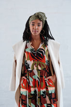 Load image into Gallery viewer, Delilah Dress - Tropical Print