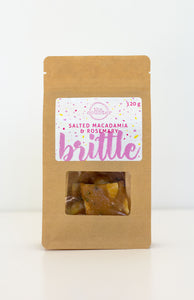 The Counter Macadamia & Rosemary Brittle