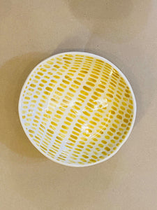 Mudness Ice Cream Bowl - Mustard Shower