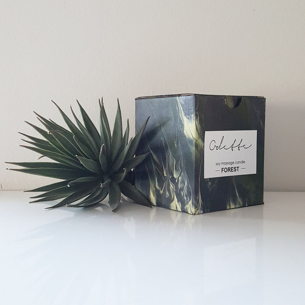Odette Uys Soy Massage Candle - Forest