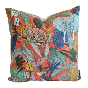 A Love Supreme Cushion Covers - Wild at Heart Orange