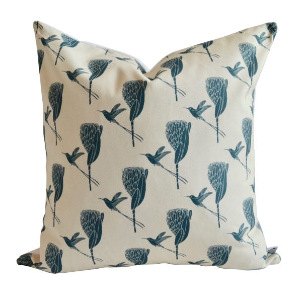 A Love Supreme Cushion Covers - Sugarbird Gunmetal