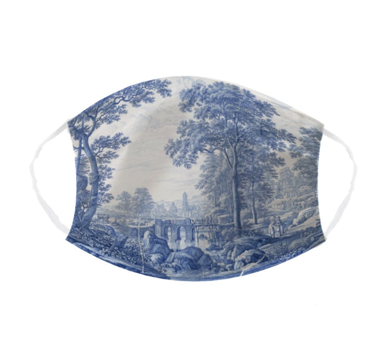 Elsje Designs Face Mask - Delft