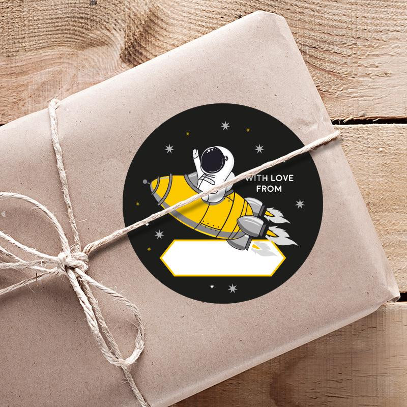 Moon & Back Gift Sticker 6 Pack - Astroboy