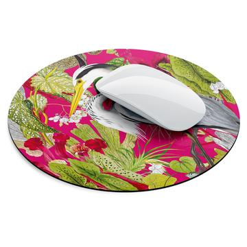 Mouse Pads - Fuschia & Lime