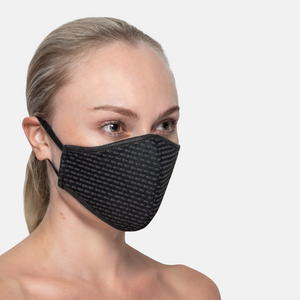 Thandana 3ply Face Mask - Black Dash