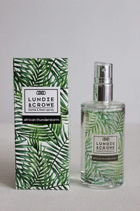 Lundie & Crowe Home & Linen Spray - African Thunderstorm