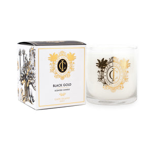 Cape Island Large Scented Candle - Black Gold