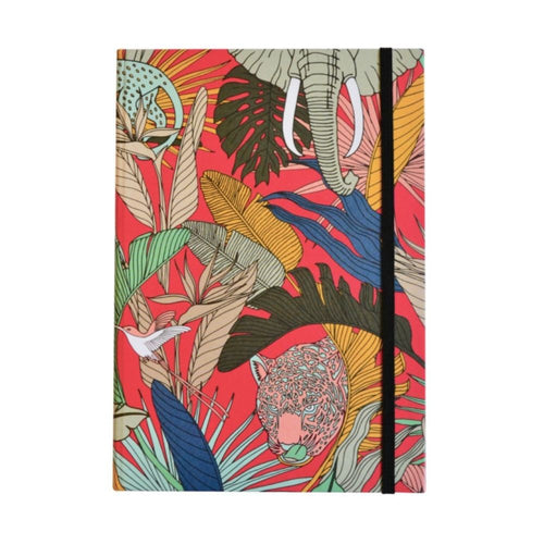 A Love Supreme Hardcover Lined Notebook - Wild at Heart Pink