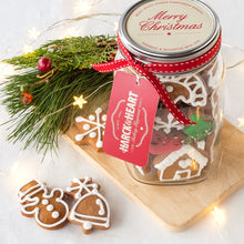 Load image into Gallery viewer, Harck & Heart Christmas Biscuit Jar
