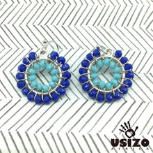 Load image into Gallery viewer, Usizo Baby O's - Blue/Aqua