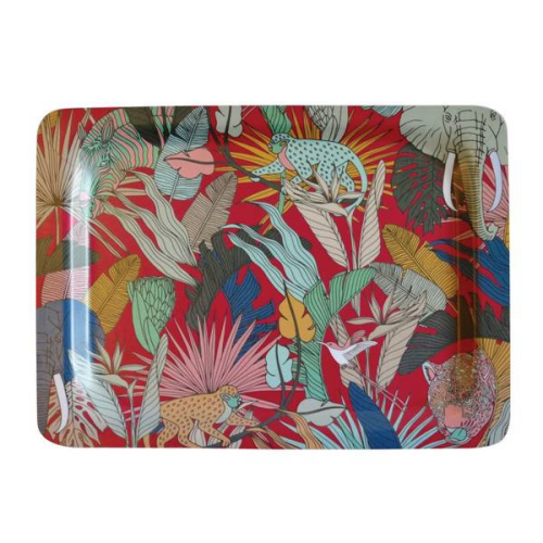 A Love Supreme Small Melamine Tray - Wild at Heart Pink