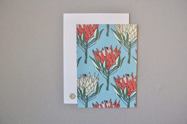 A Love Supreme A6 Postcard - King Protea (Red)