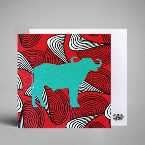 A Love Supreme Square Notecard - Buffalise