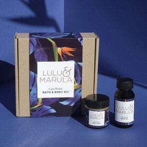Lulu & Marula Calming Bath & Body Kit