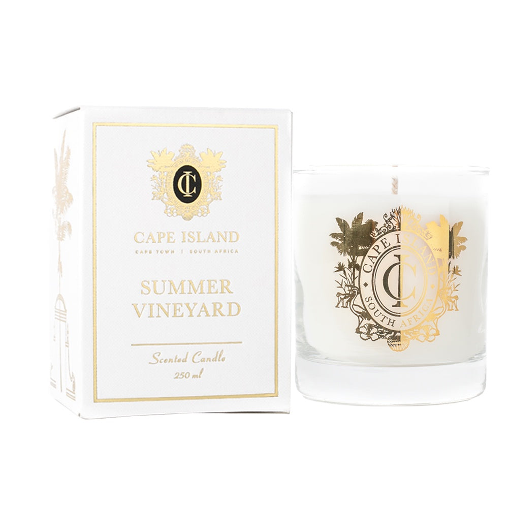 Cape Island Medium Scented Candle - Summer Vineyard
