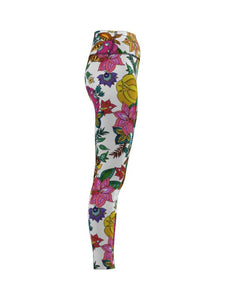 Rush F/L Tights - Hyper Botanical