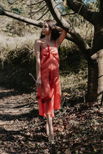 Load image into Gallery viewer, Elula Linen Jumpsuit - Coral