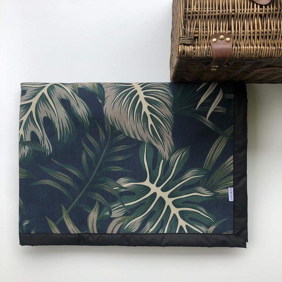 Table & Co Picnic Rug - Jungle Nights