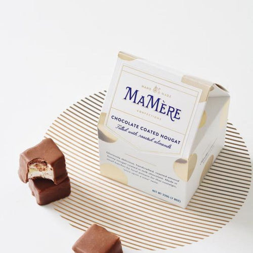 Ma Mere chocolate coated nougat box