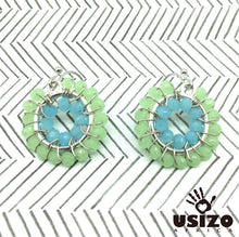 Load image into Gallery viewer, Usizo Baby O's - Pastel Green & Blue