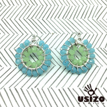 Load image into Gallery viewer, Usizo Baby O's - Pastel Blue & Green