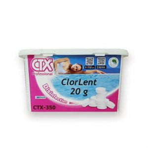 Chlore lent 20g - CTX350