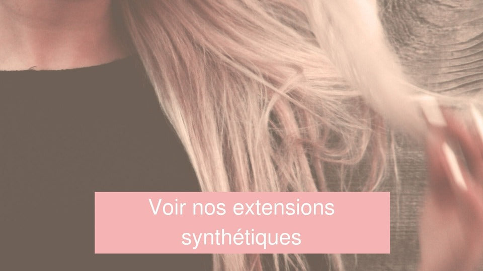 extension cheveux synthétique