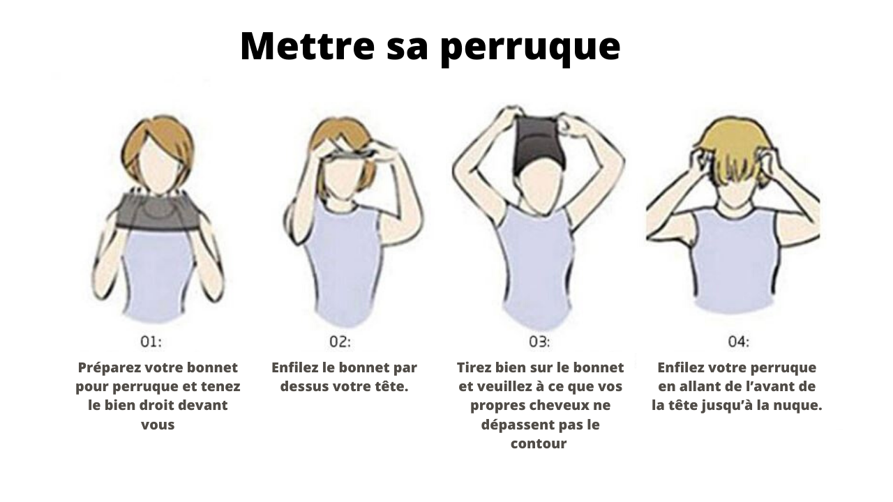 comment mettre sa perruque