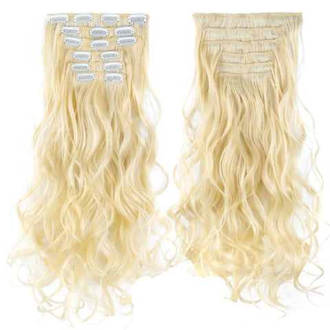 extension cheveux blond platine