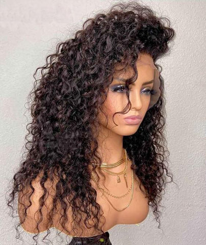 perruque bresilienne curly hair