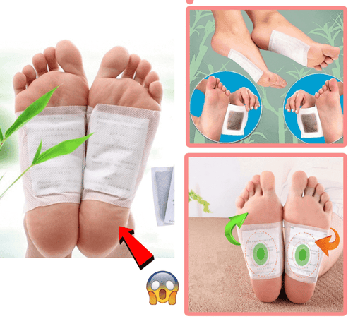 Detox Cleansing Foot Pads (60 Pcs)