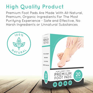 Detox Herbal Foot Patches ( Set of 30 pcs )