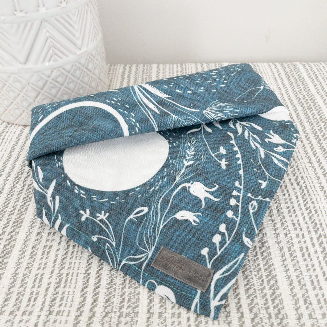 Lunar Moon Dog Bandana