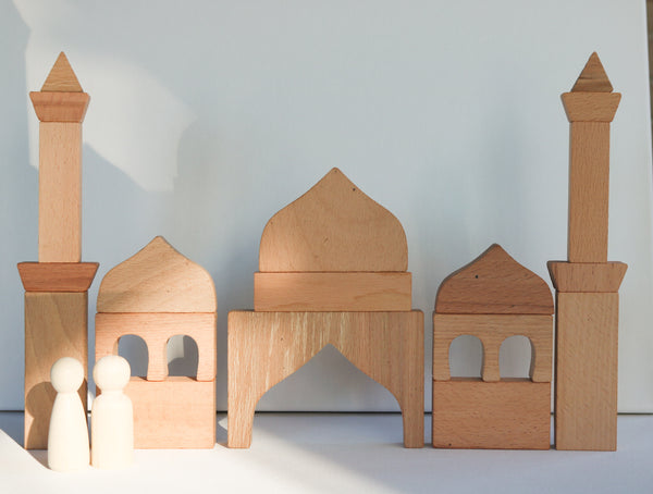 Wooden Masjid Building Blocks