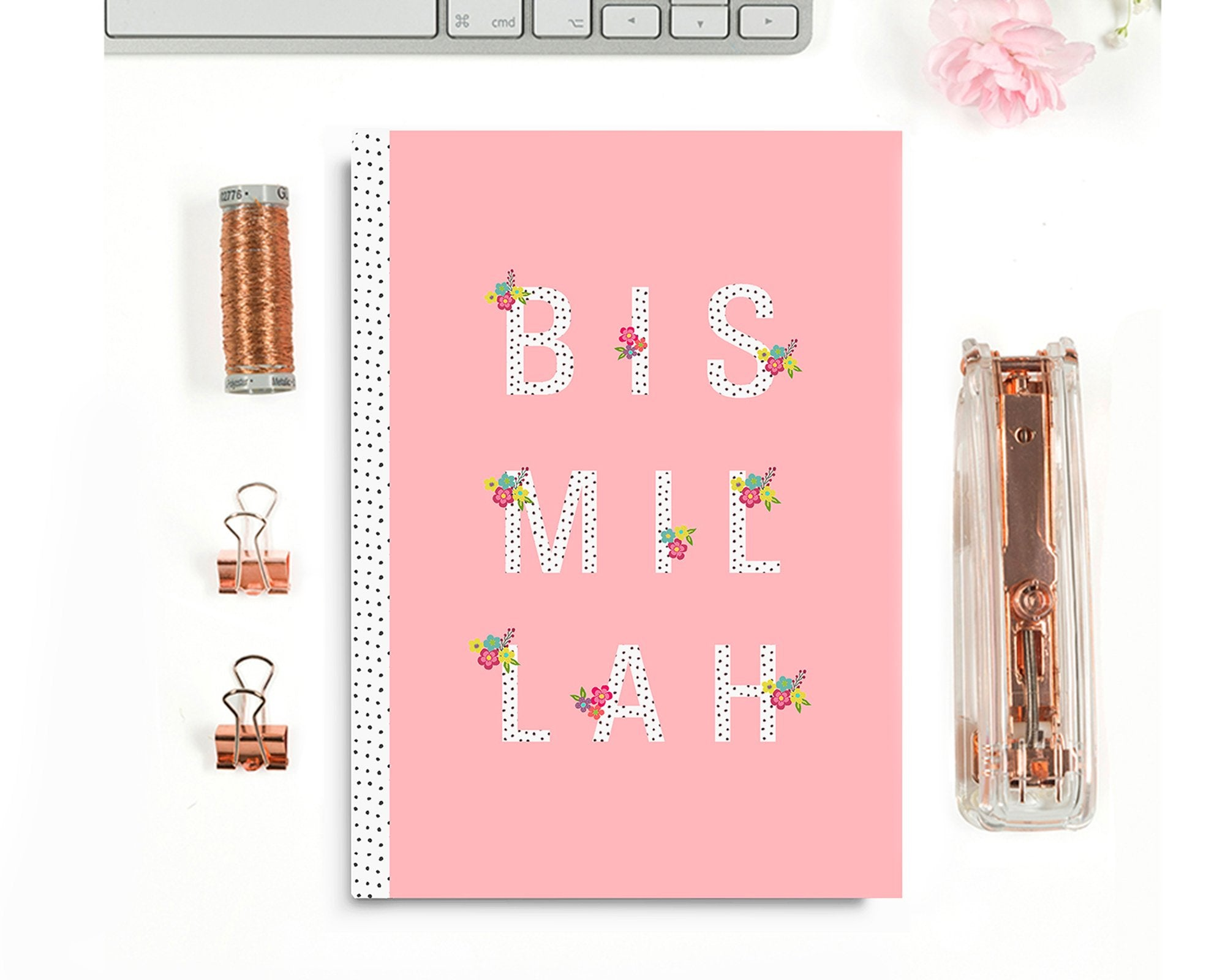 Bismillah Blush Notebook