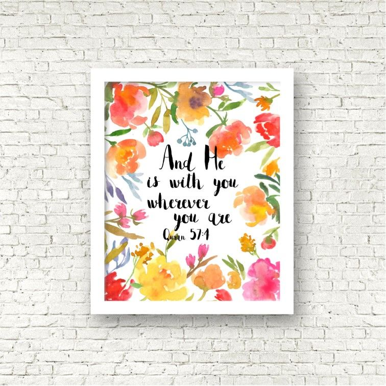 """He Is With You"" Print"