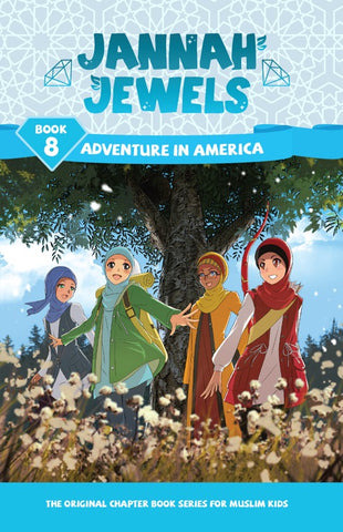Jannah Jewels Book 8 (Adventure in America)