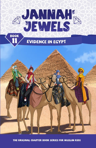 Jannah Jewels Book 11 (Evidence in Egypt)
