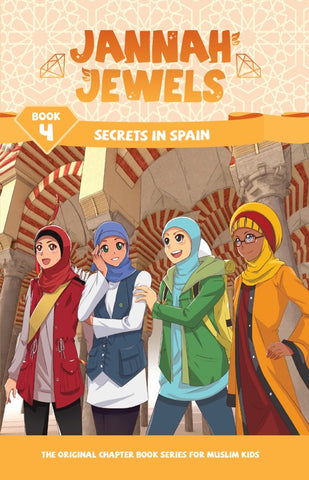 Jannah Jewels Book 4 (Secrets in Spain)