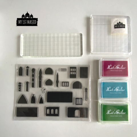 Masjid Architect Stamp Set