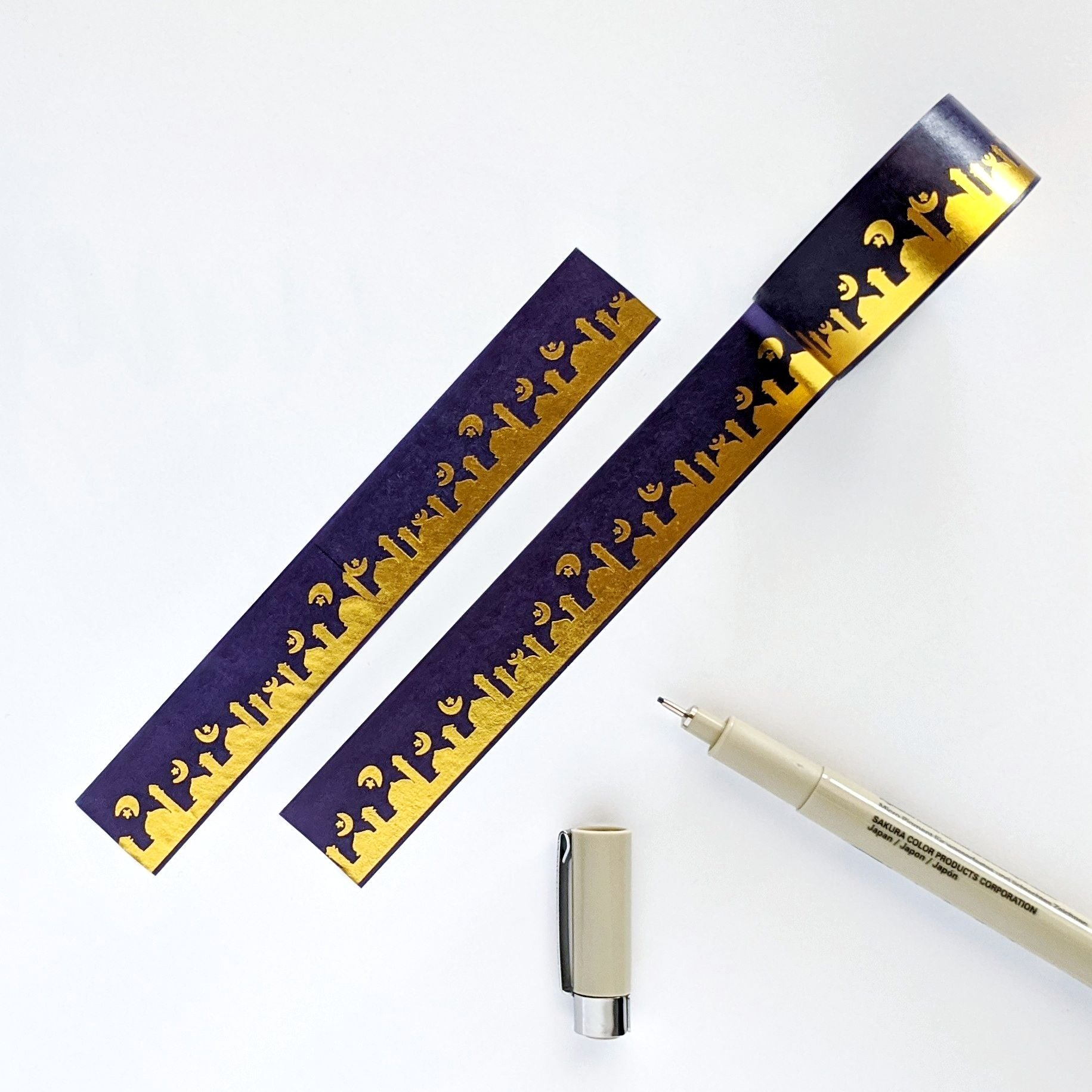 Mosque & Crescent Eid Washi Tape