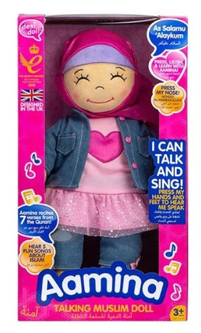 DesiDoll- Talking Doll Listen & Learn with Aamina